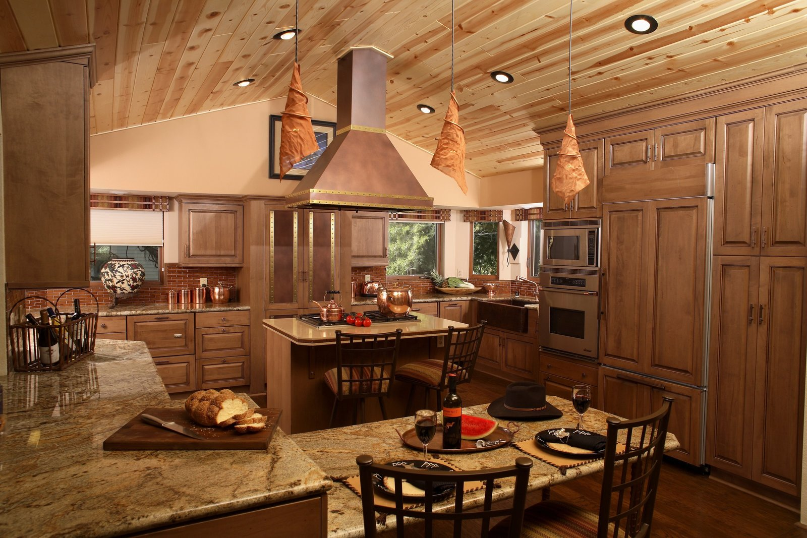 Arrowhead Vacation Home Kitchen Design