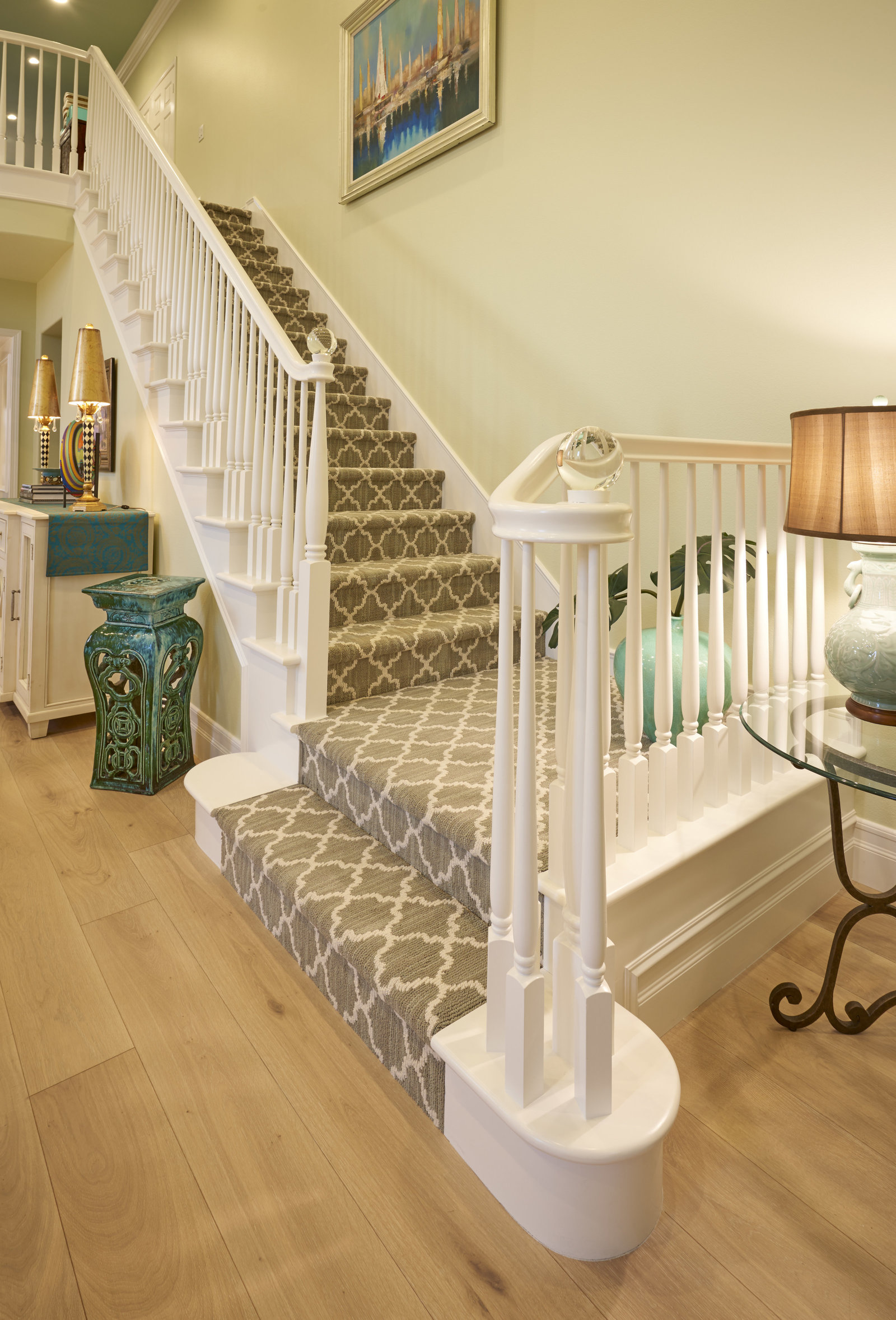 Great Room Staircase Design