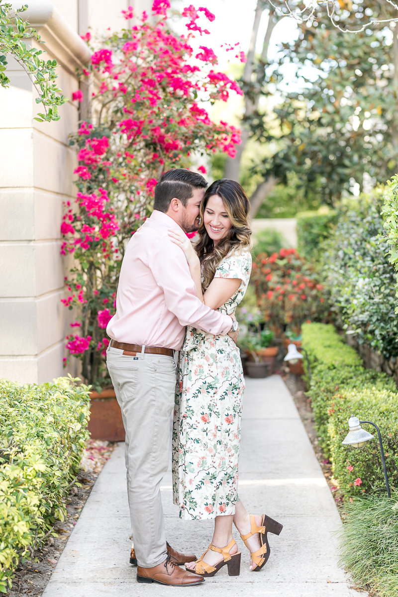 Rachel and Justin Winter Park Engagement session | Rollins College engagement_-3