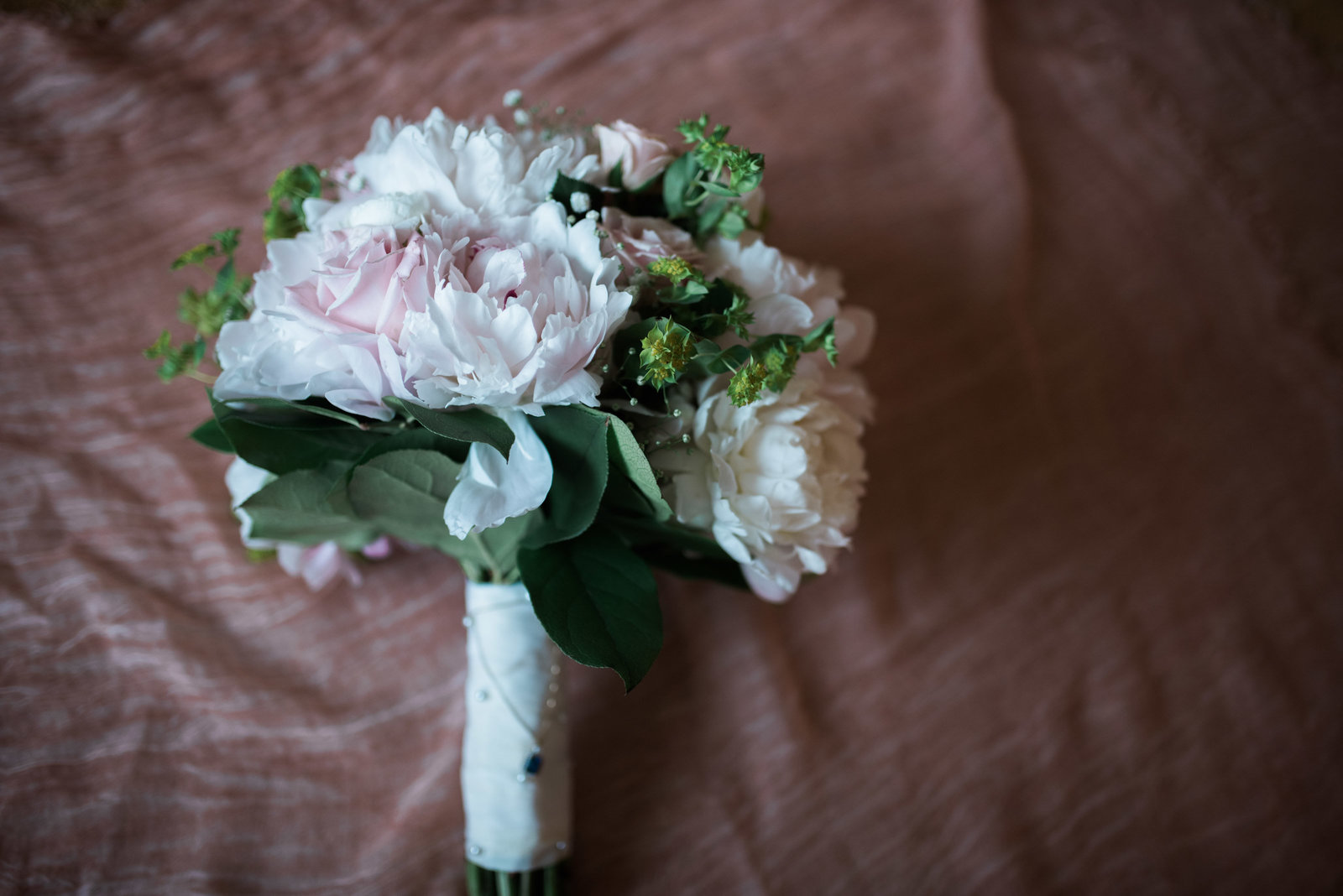 Floral bouquet south shore wedding josi photo