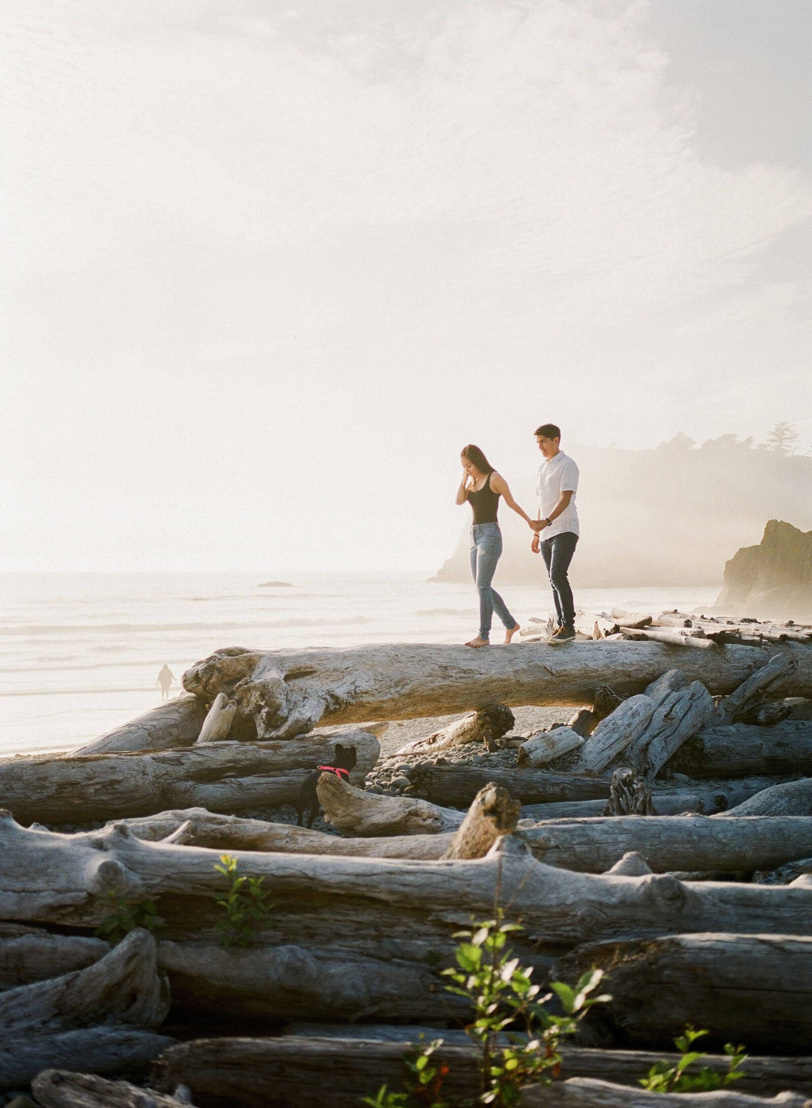M & M Engagement at Ruby beach (15)