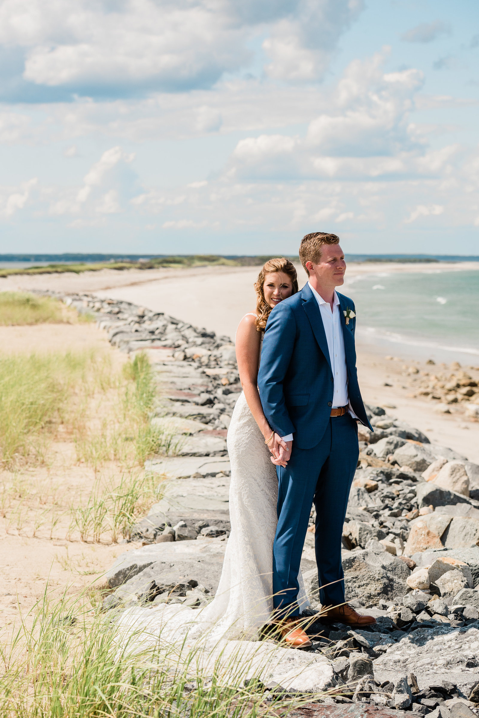Gurnet point Duxbury beach wedding