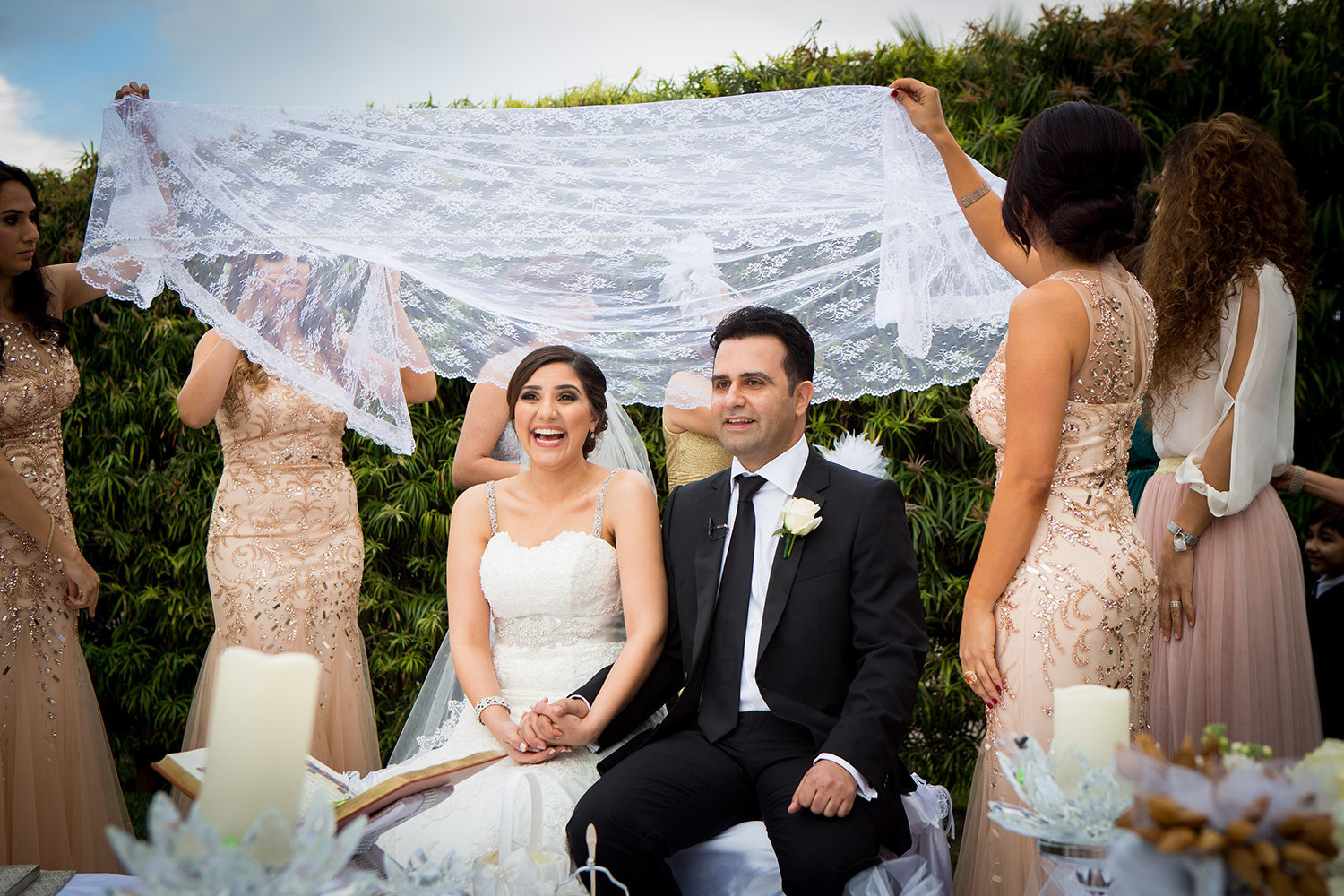 sofreyé aghd canopy |  Persian wedding ceremony in San Diego