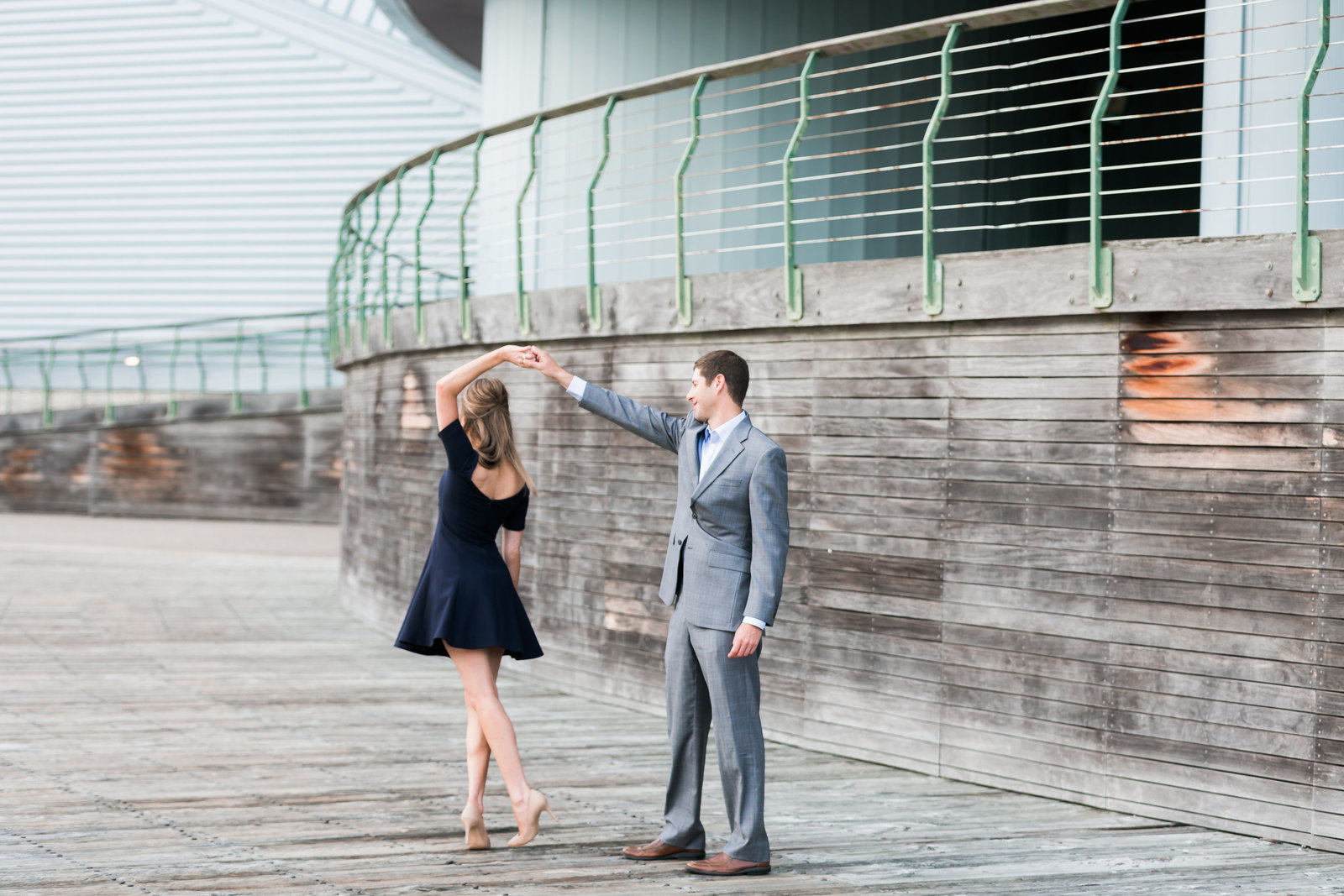 Downtown Norfolk Classic Engagement Session by Elizabeth Friske Photography-13