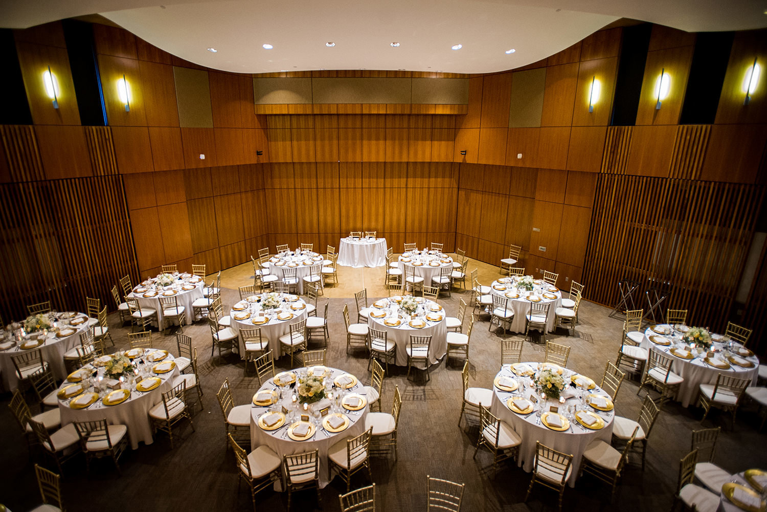 overview of the reception space