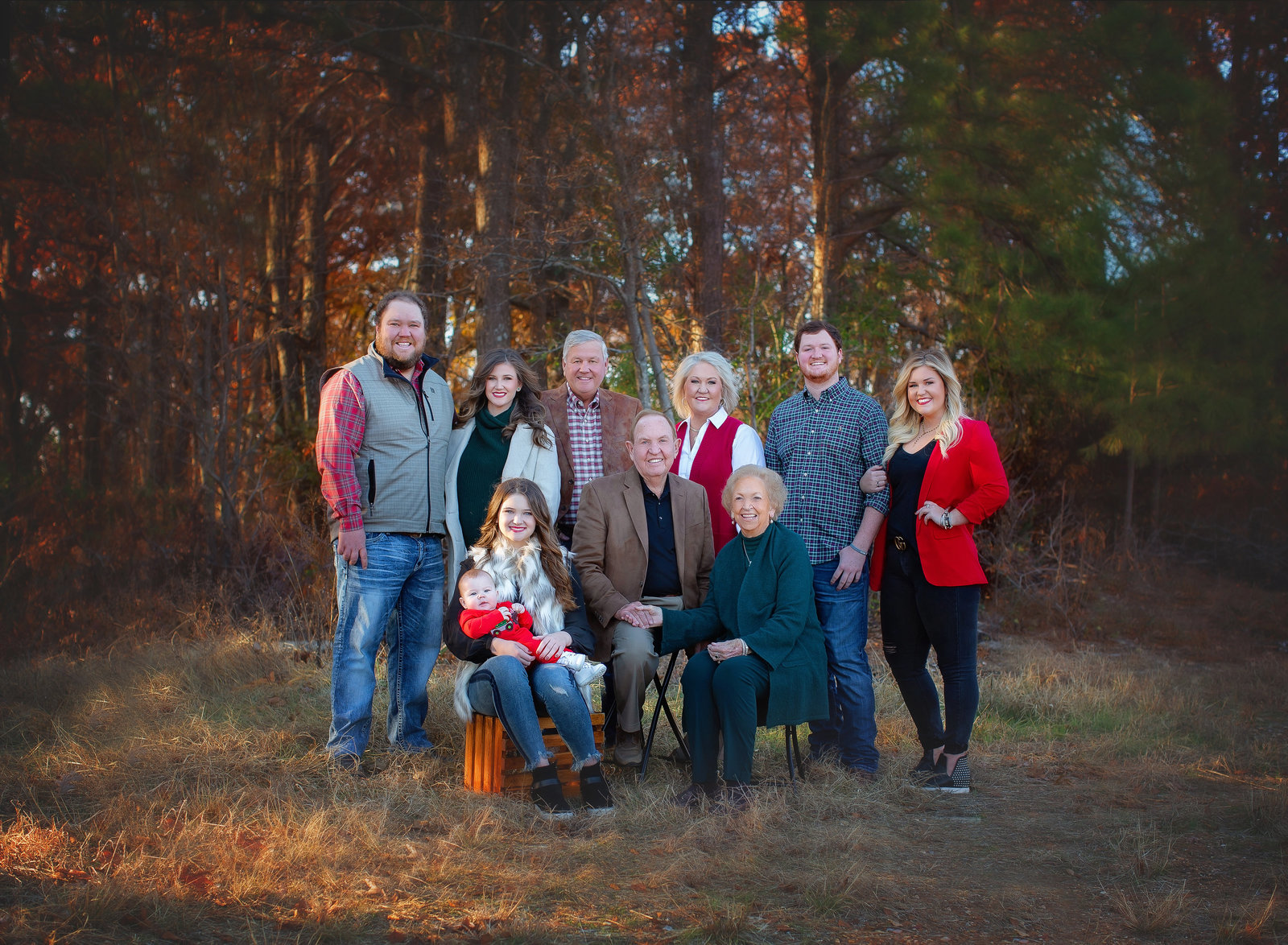 Arkansas Family Portrait Photographer Melanie Runsick