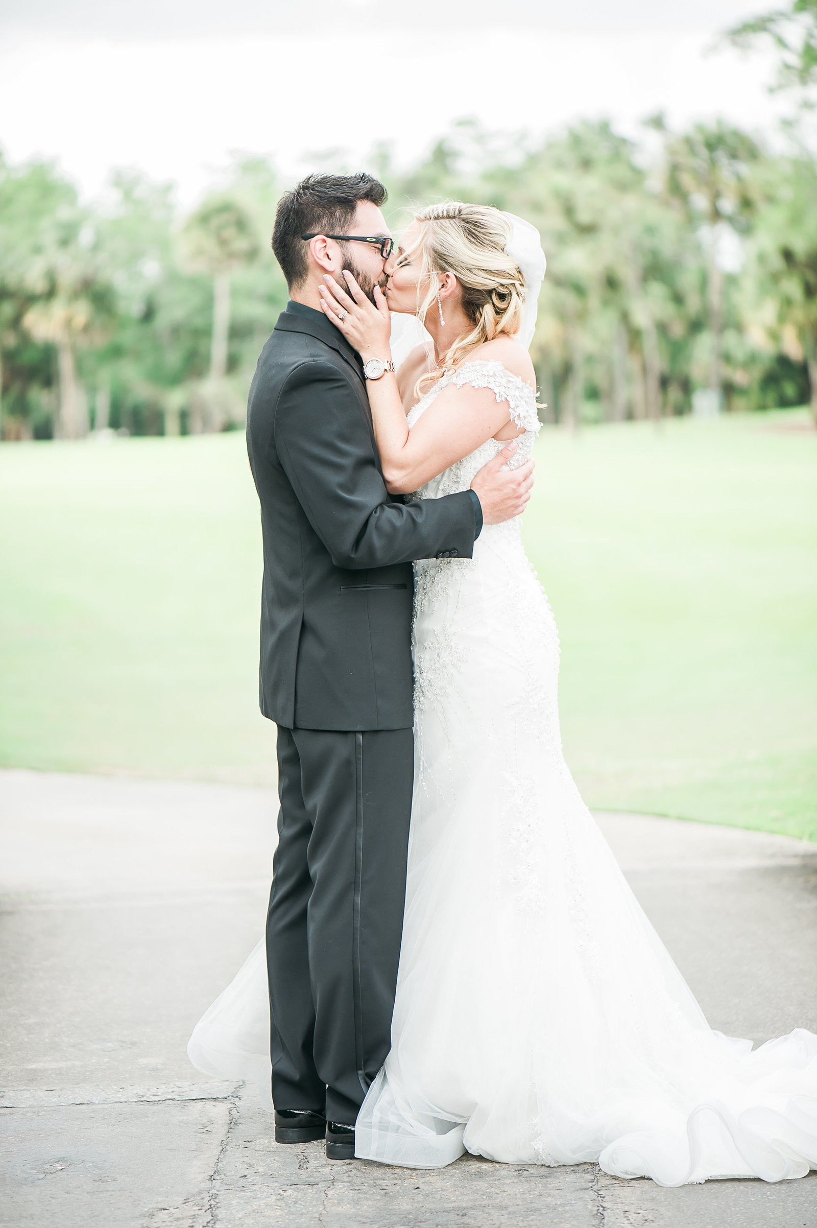 Just Married - Myacoo Country Club Wedding - Palm Beach Wedding Photography by Palm Beach Photography, Inc.
