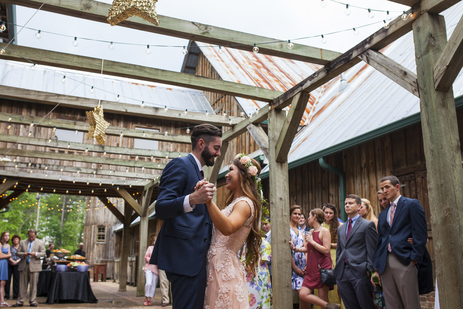 The barn wedding