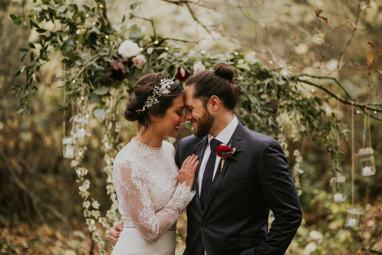 The Stars Inside - Forest Elopement - Nataly J Photography (21)