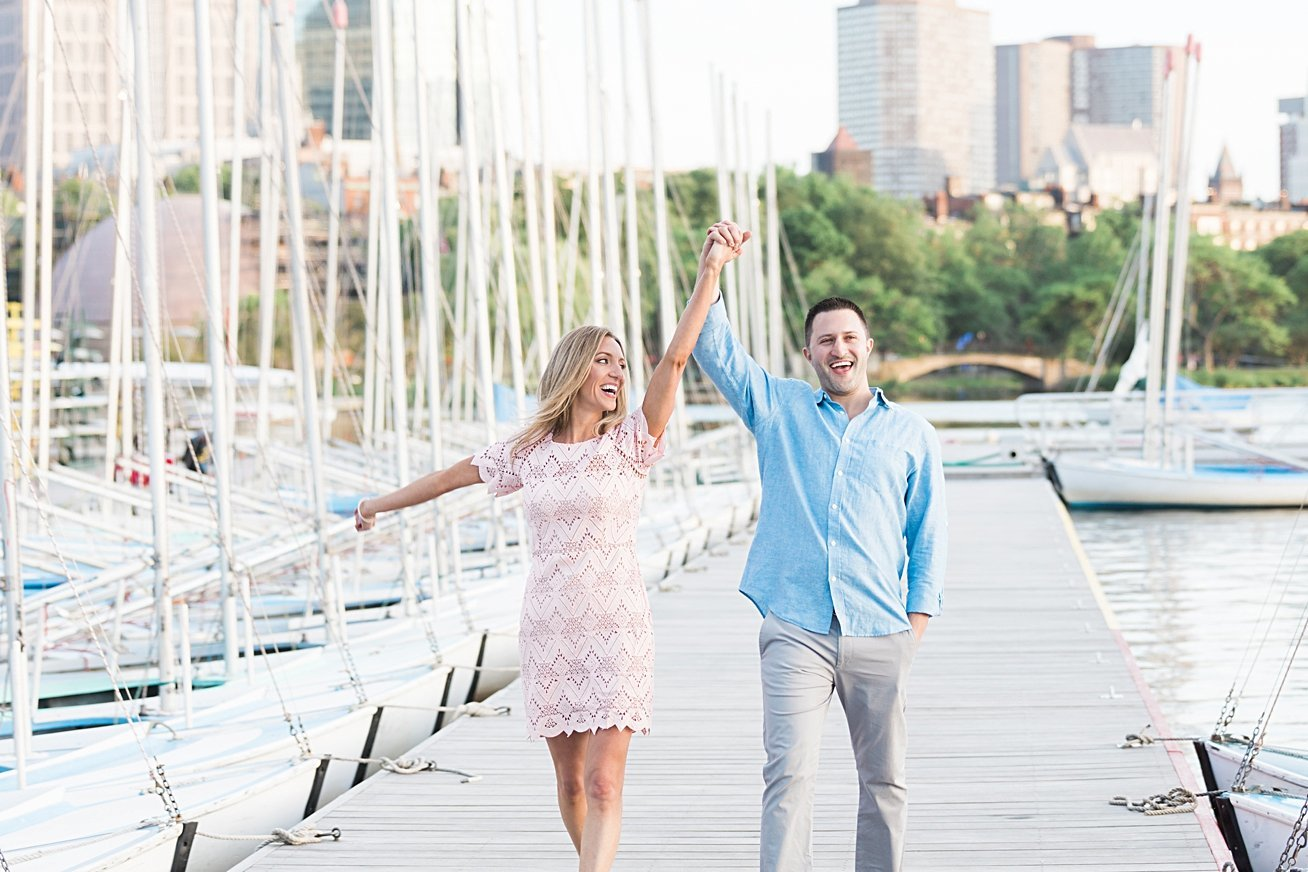 newburyphotographs.com engagement session at Community Boat House