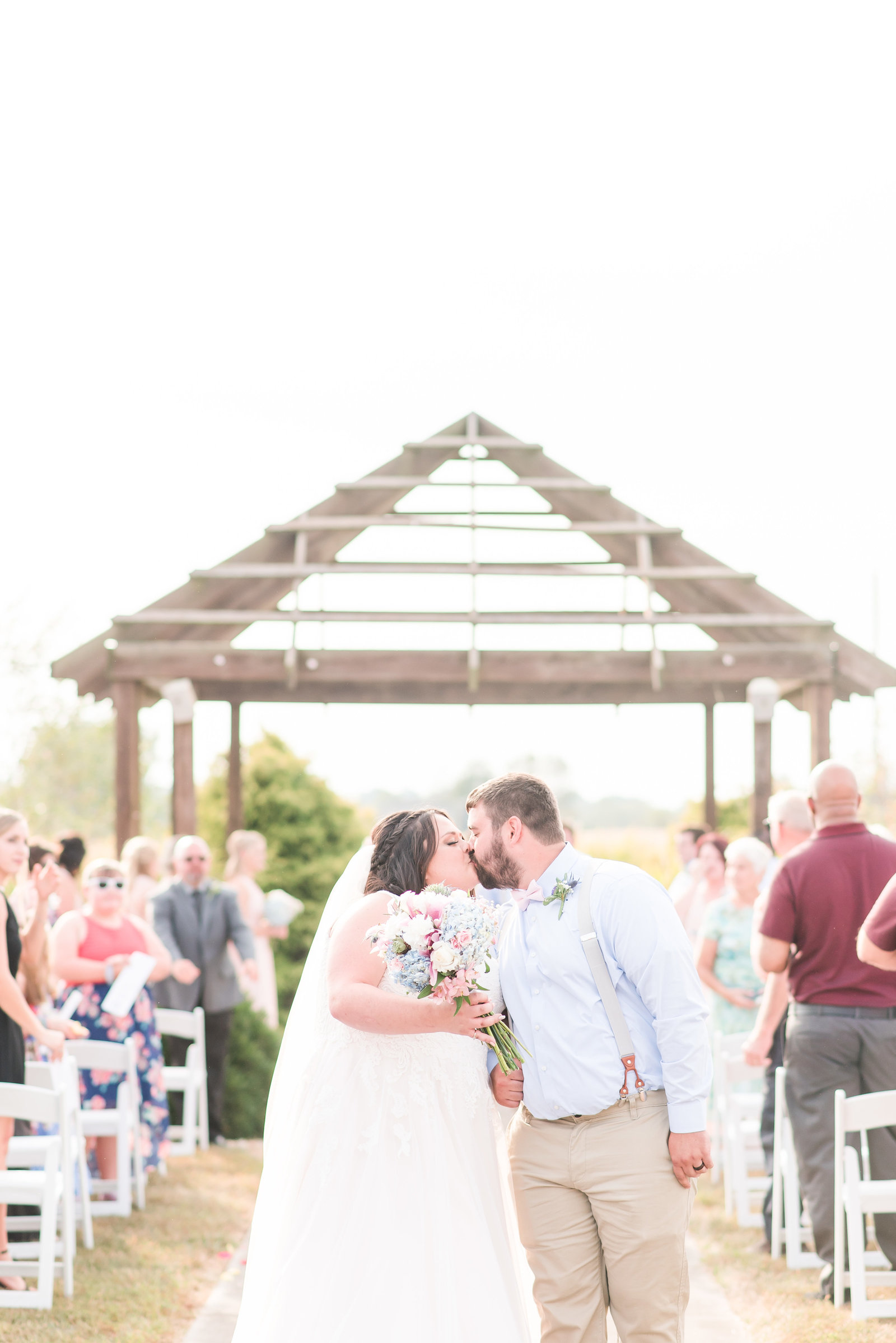 Outdoor Wedding at Cornerstone Hall