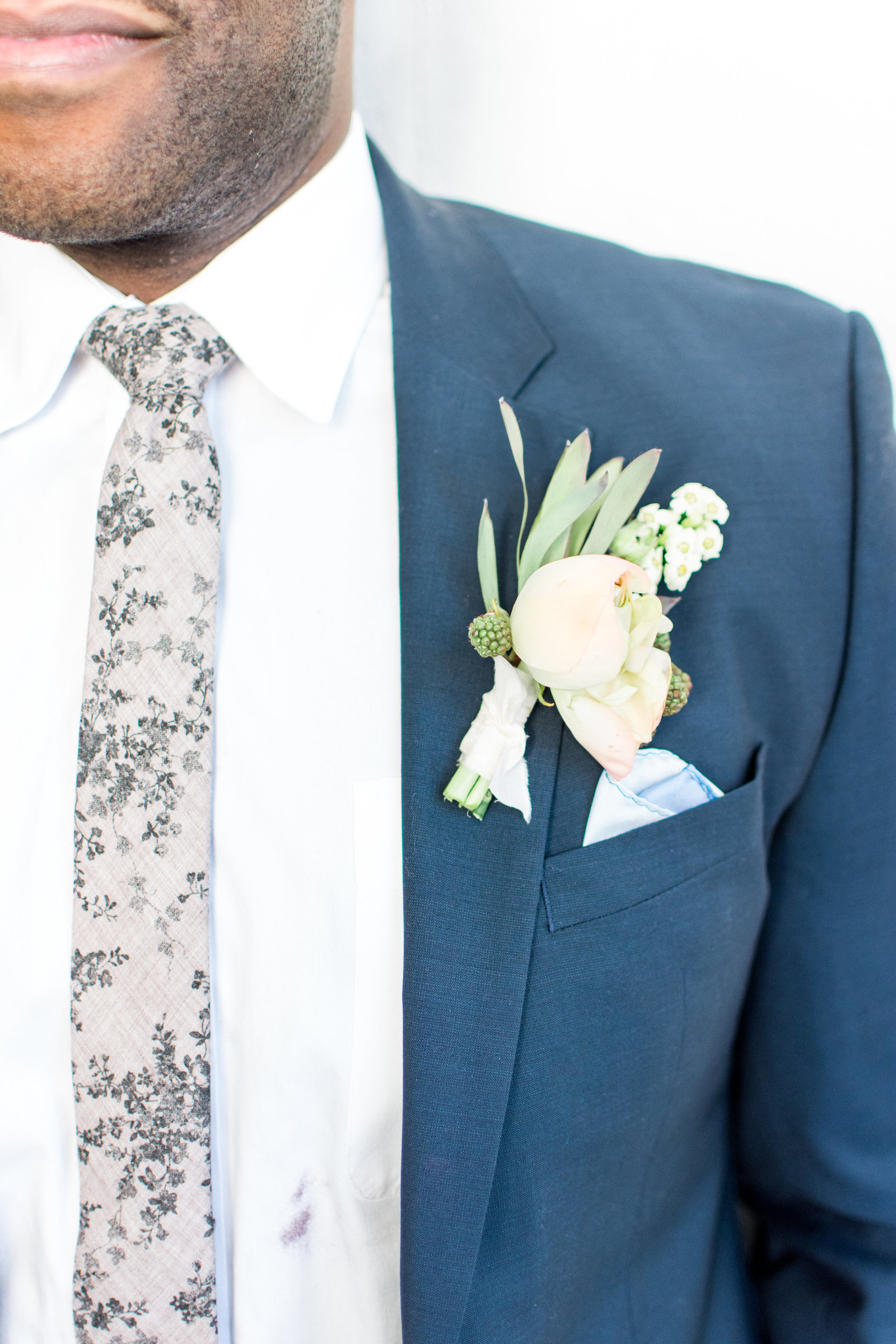 Blue Groom Detail