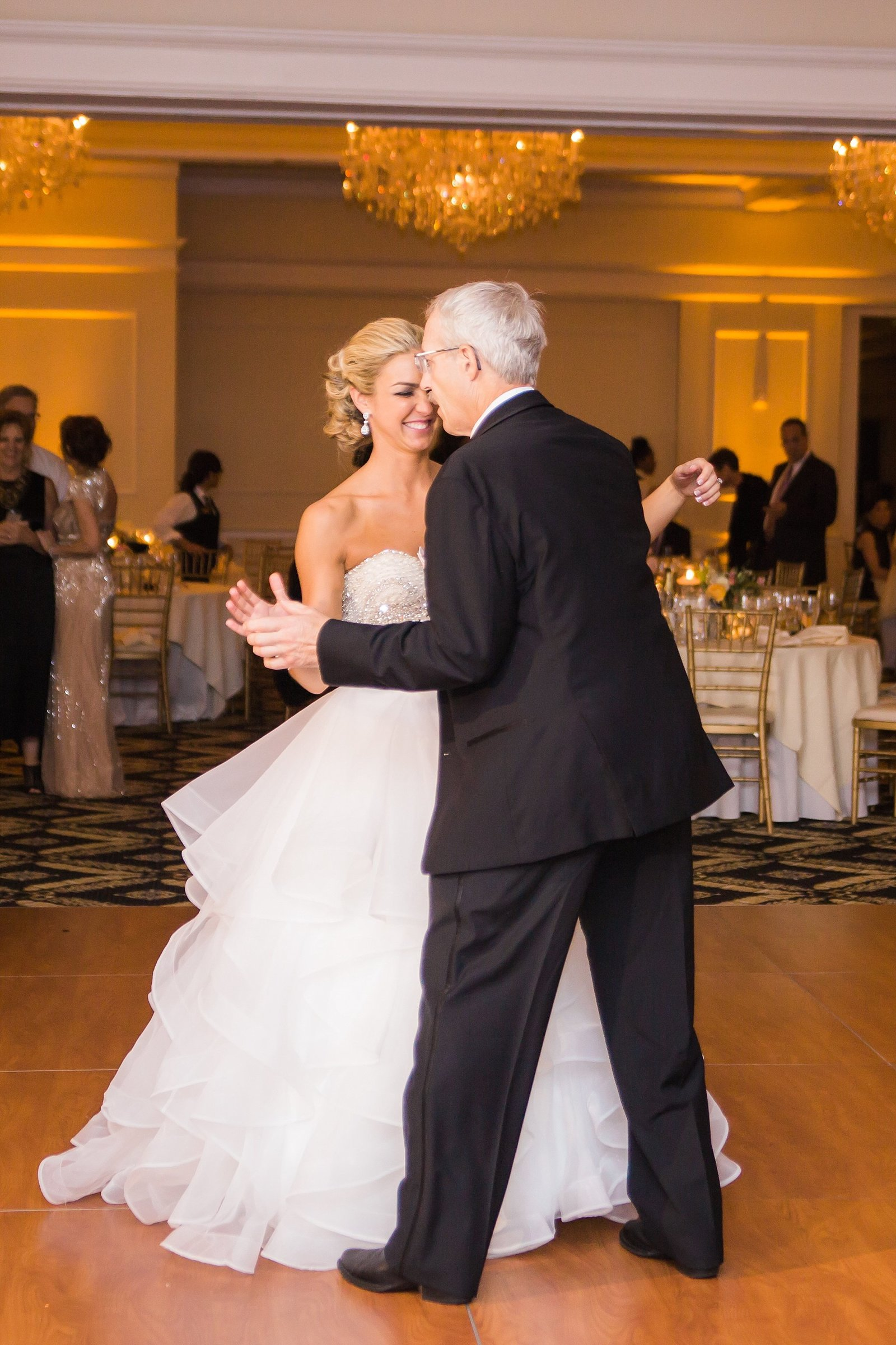 M Harris Studios_Trump National Golf Club Wedding_bride father dancing