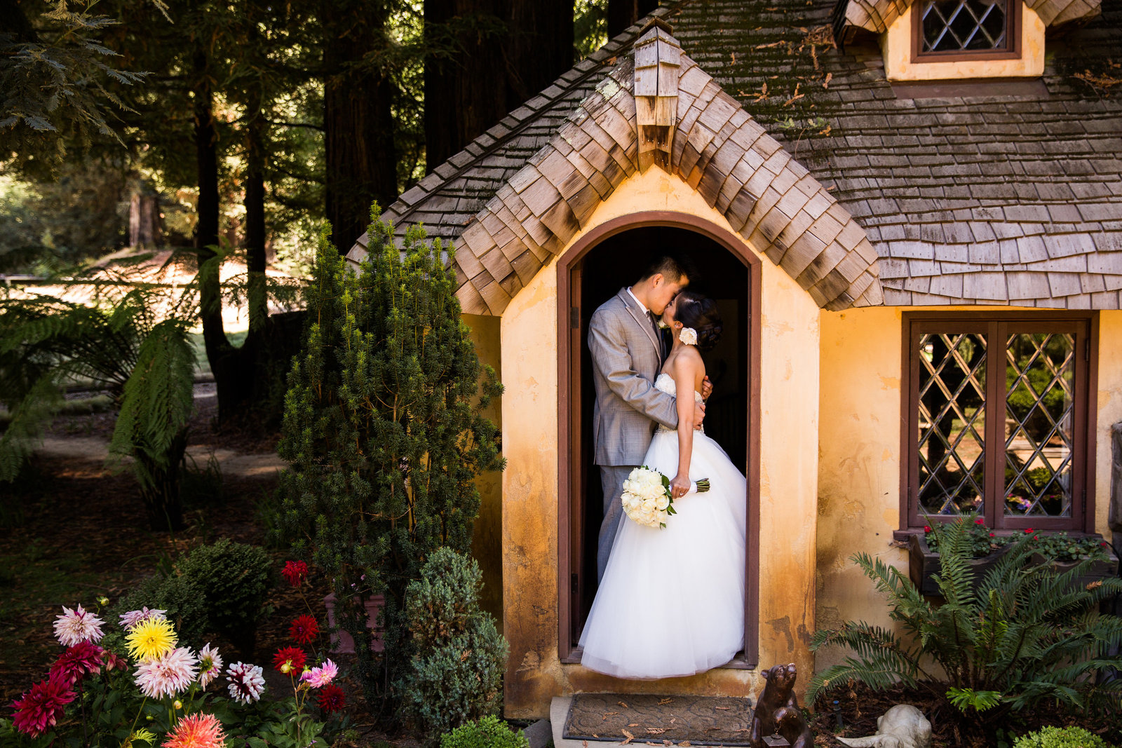 nestldown wedding forest los gatos california 1