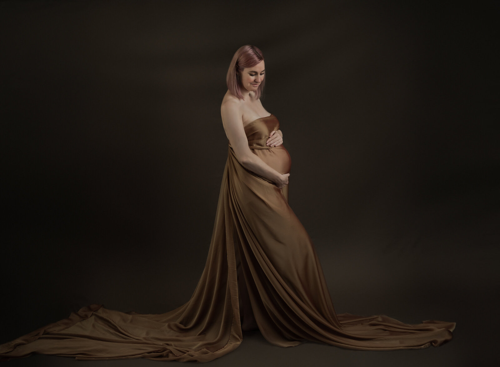 high end maternity photography