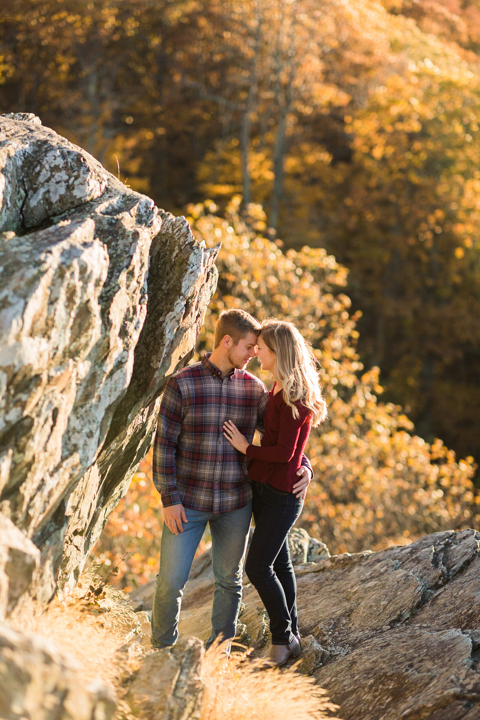 Fall Mountain Engagement Session in the Shenandoah Valley-21