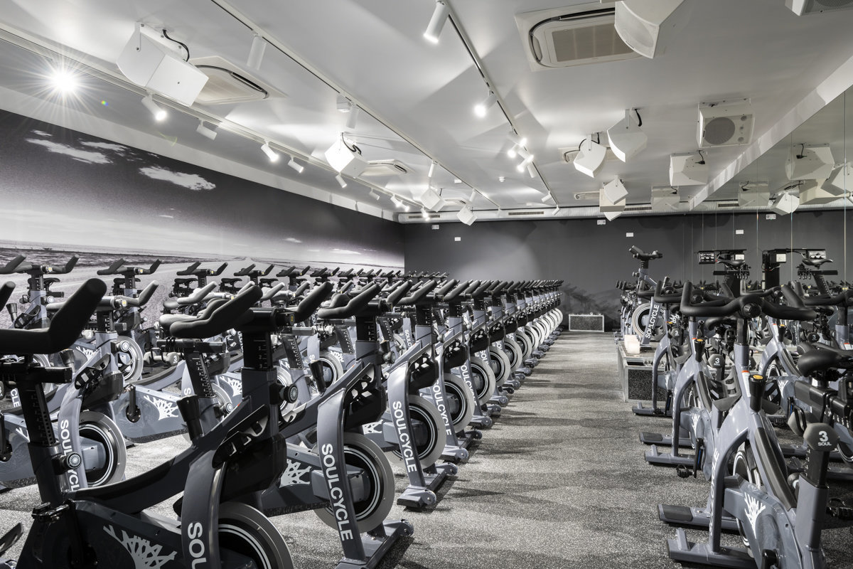 Soulcycle - Exposure - retail interior photographer london