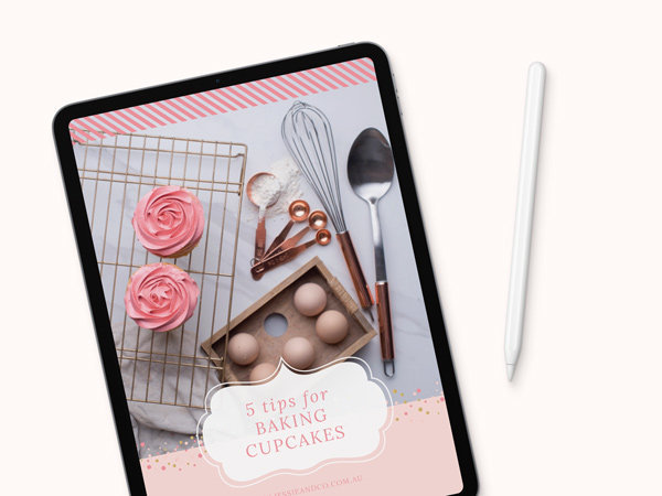 ebook design for cake maker