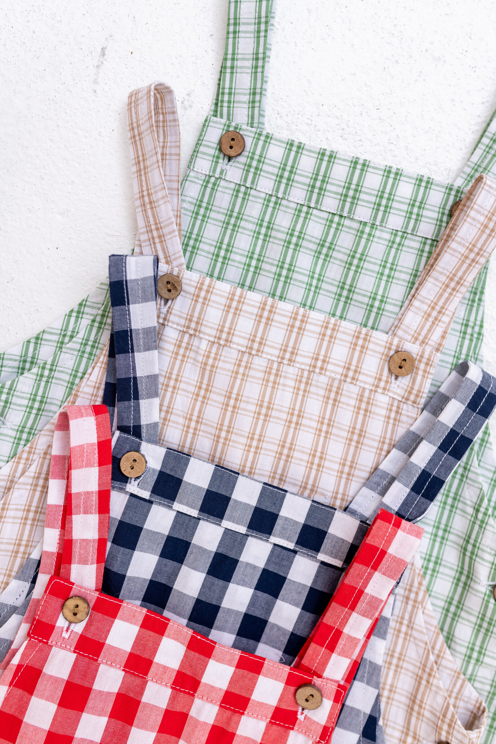 Plaid boys' clothing