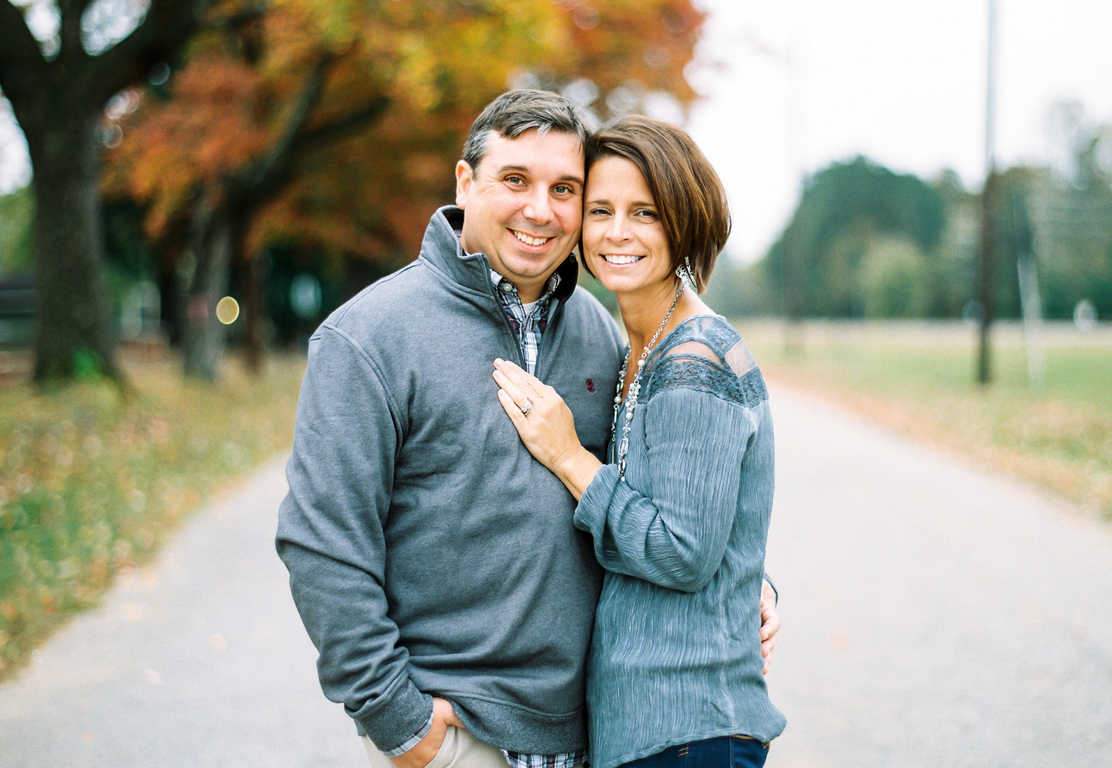 Wake Forest Couples Portrait Photography