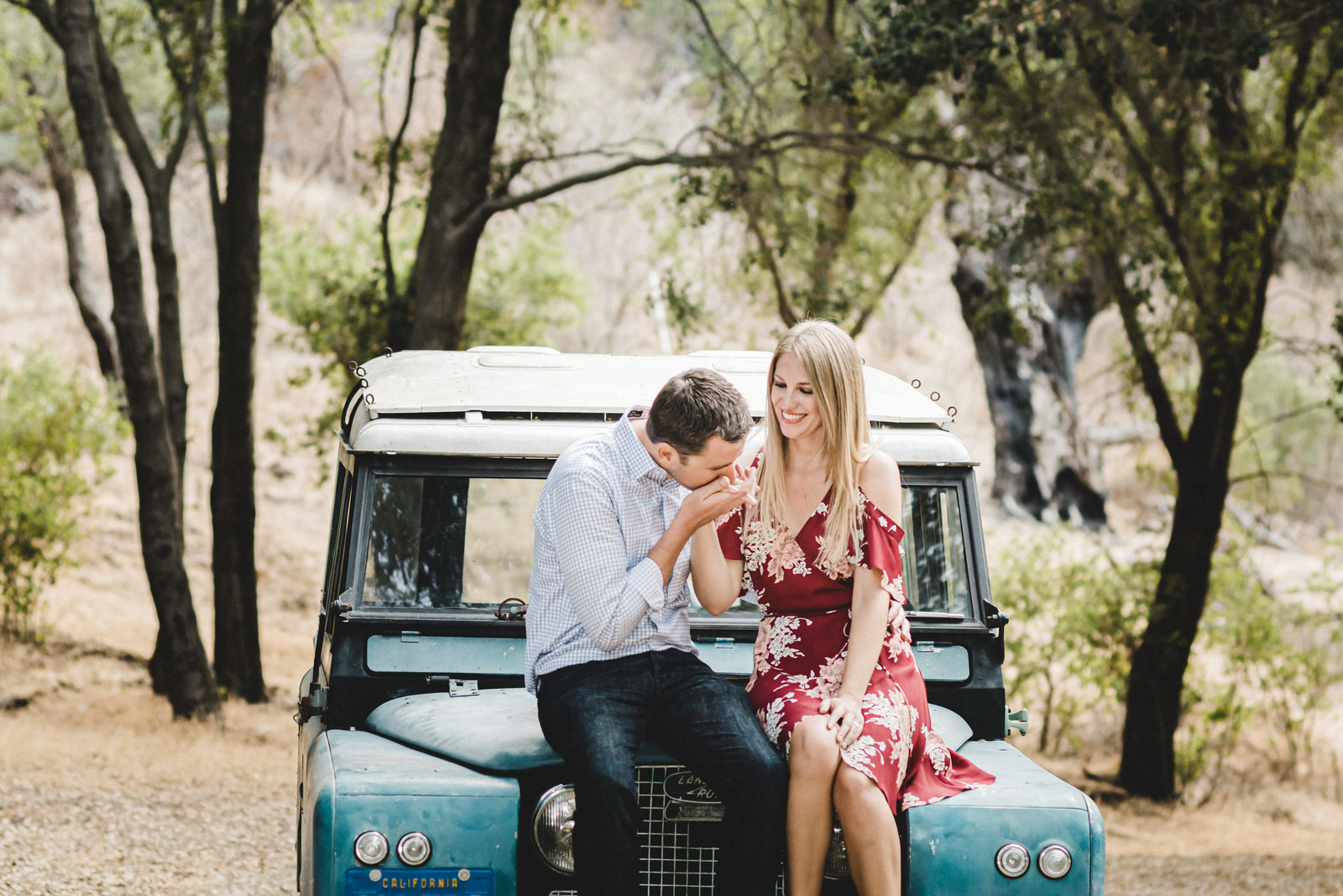 Jeep Engagement Session