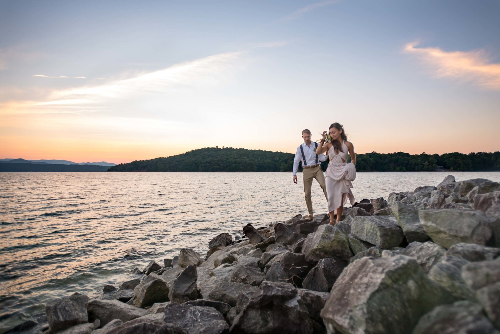 Photographer for Unique Outdoor Wedding Venue in Greenville