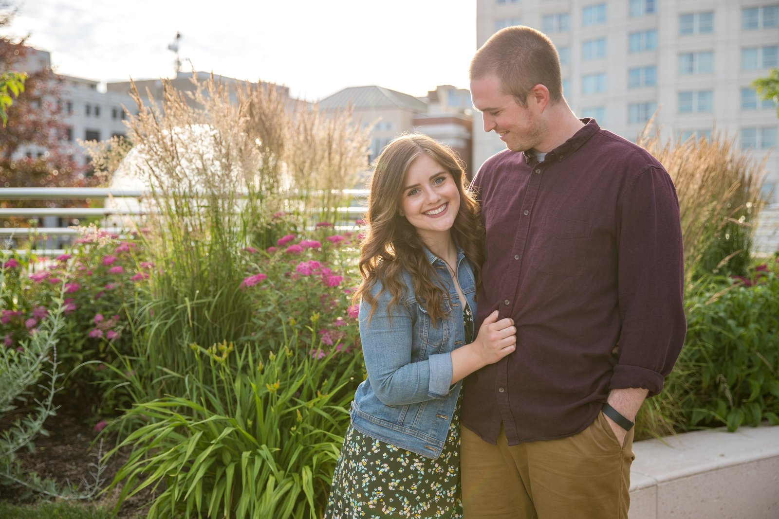Lake Monona Engagement Photo-min