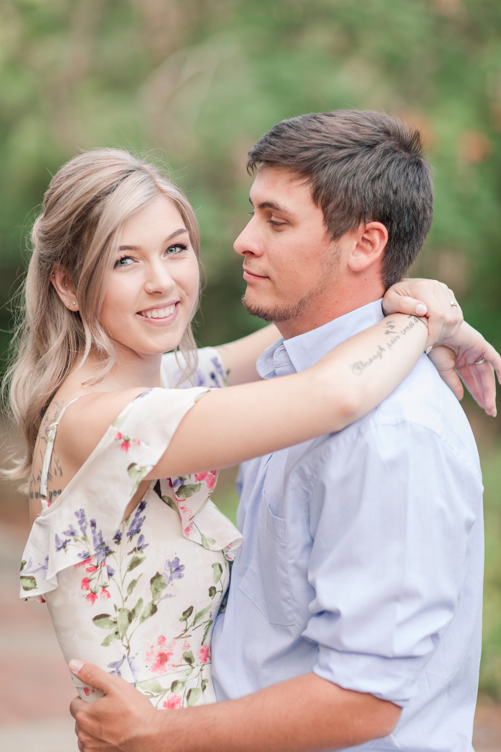 Jennifer B Photography-Sandhills Horticultural Gardens Engagement-Pinehurst NC-Cody and Kayla-2019-0044