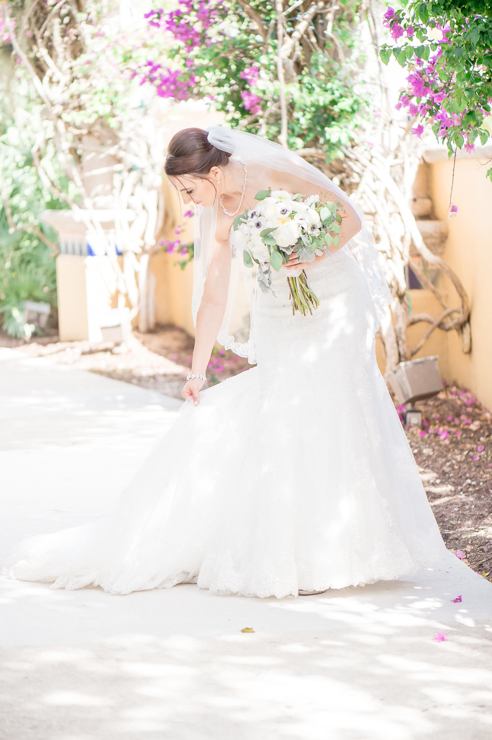 Beautiful Bride - Country Club at Mirasol Wedding - Palm Beach Wedding Photography by Palm Beach Photography, Inc.