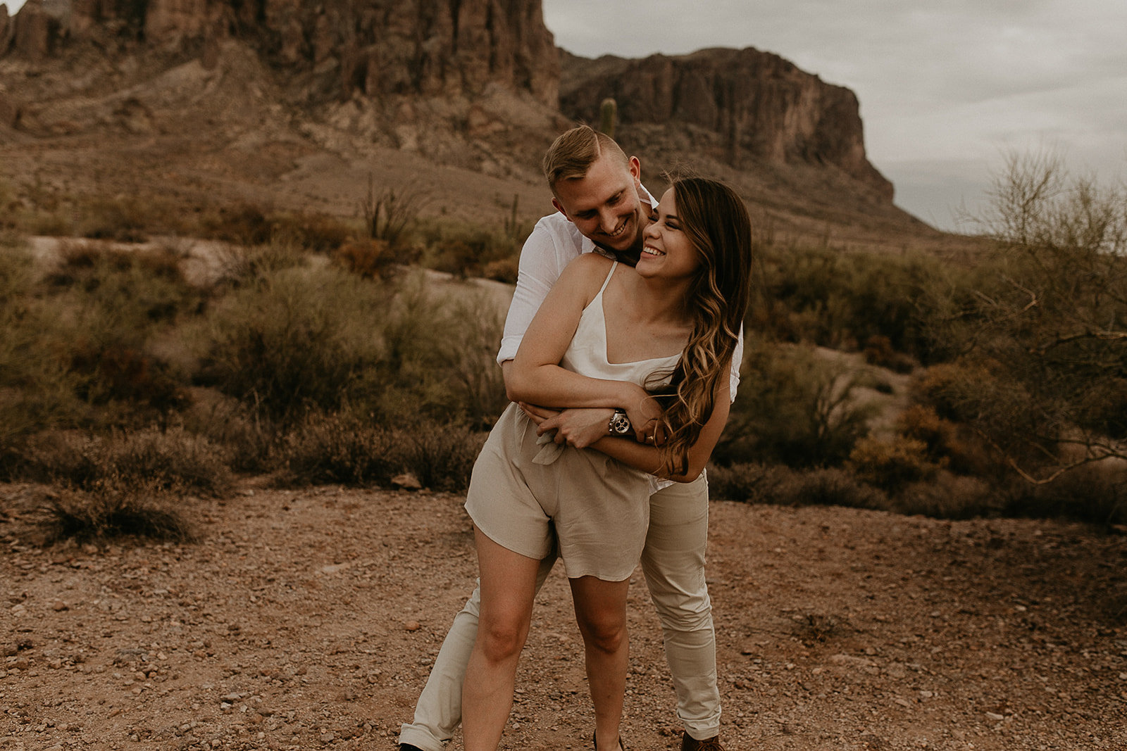 Superstition Mountains Engagement-24