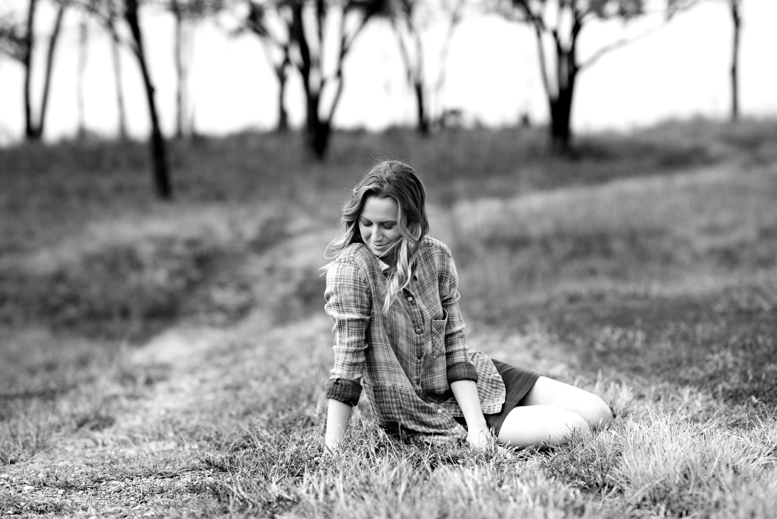 country senior photos