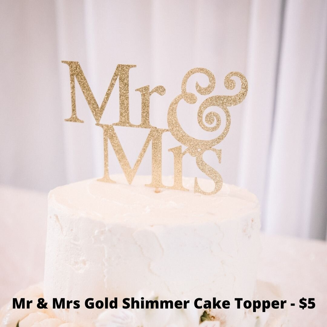 mr and mrs gold topper