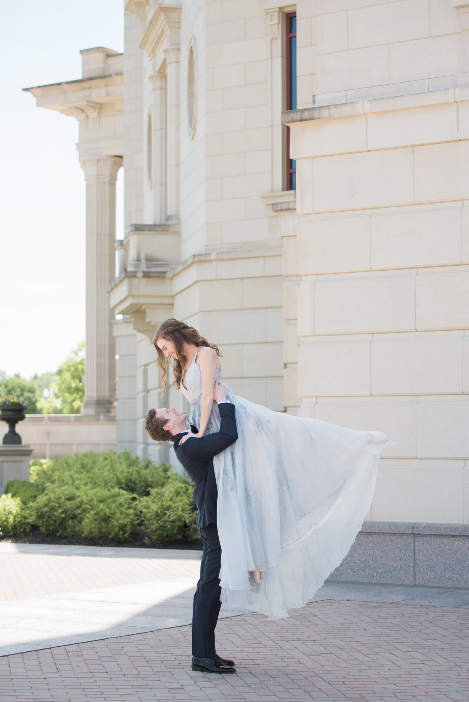 Ballet Inspired Engagement Session at the Palladium in Carmel Indiana (82 of 129)