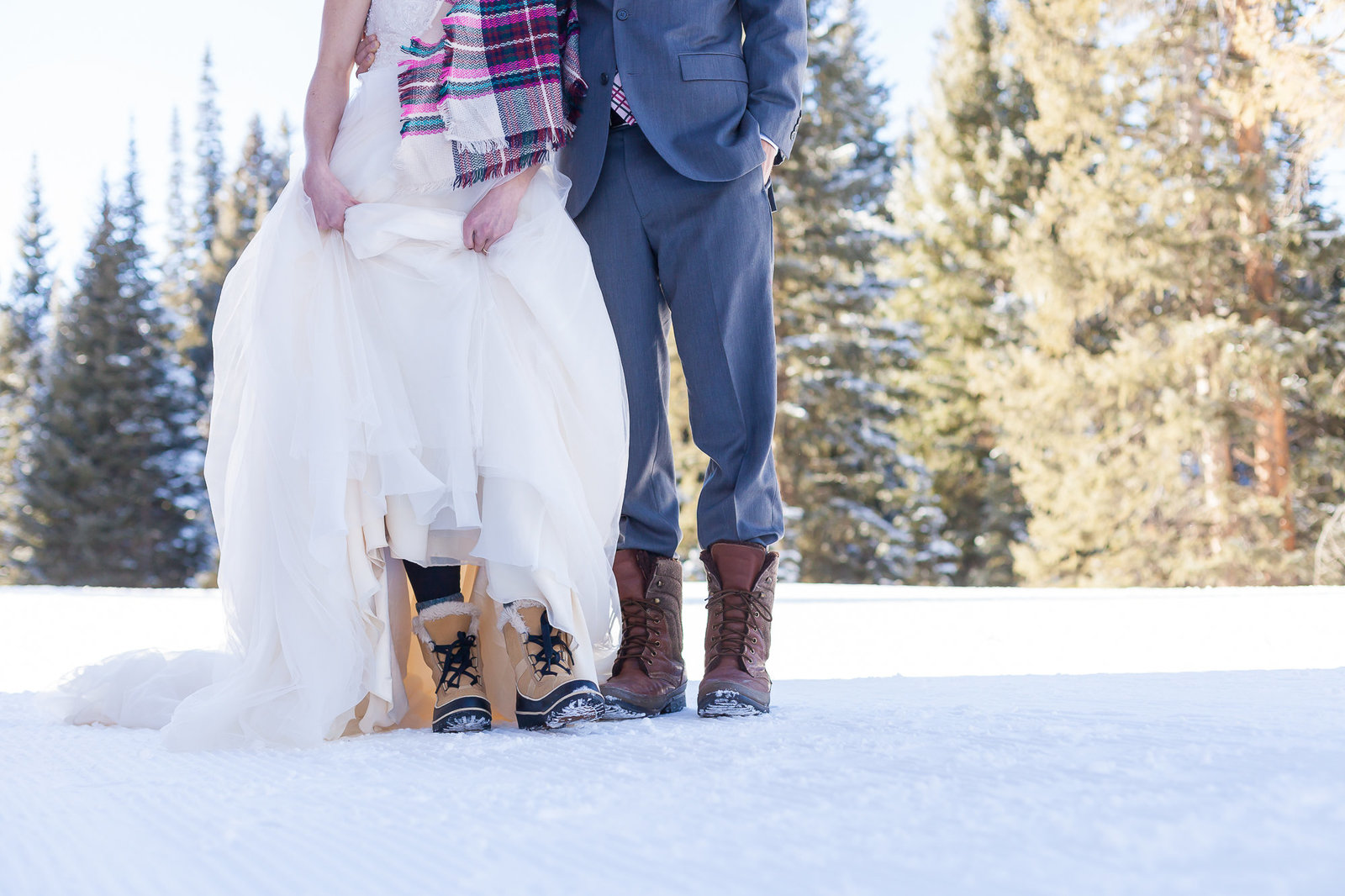Colorado Winter Mountain Wedding-22