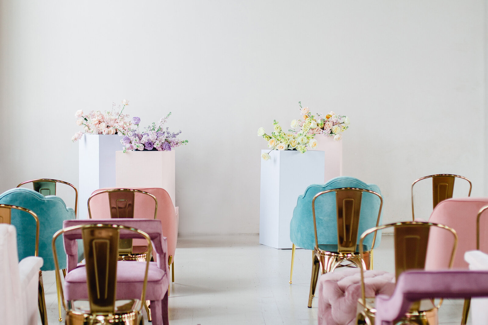Pastel Rainbows Editorial - Michelle Norwood Events - 14