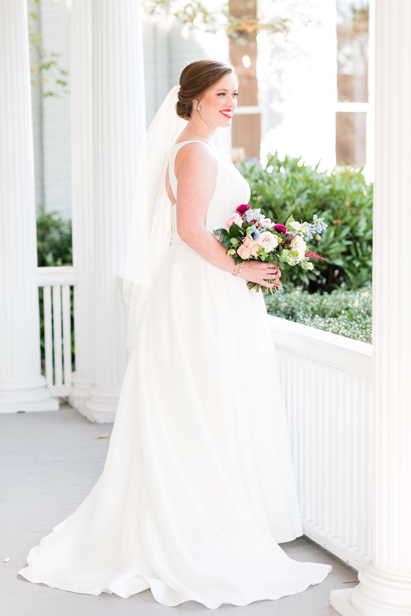 A McAlister Leftwich House Wedding, Michelle & Sara Photography, Greensboro NC2
