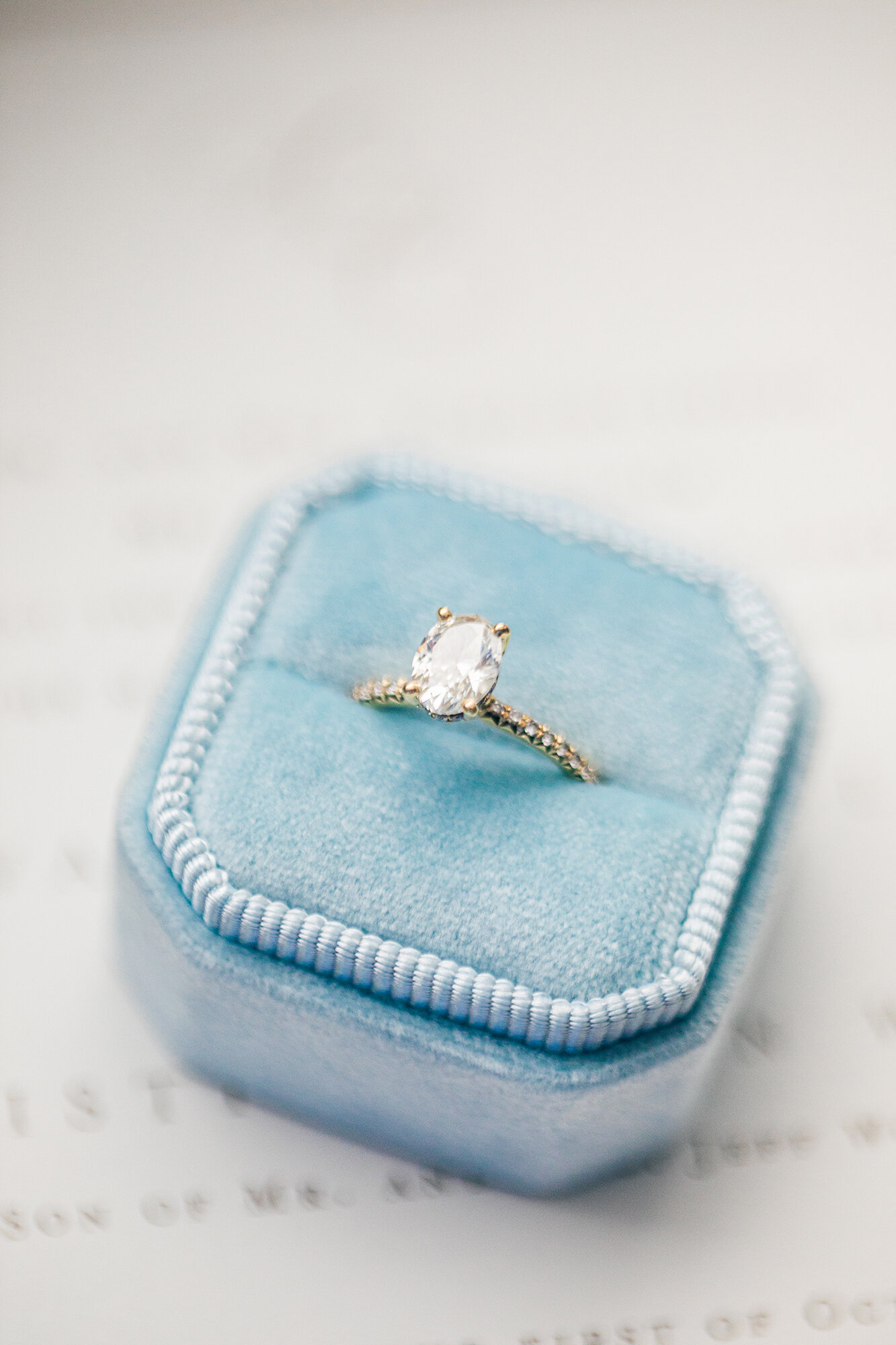 Wedding Ring photo by Tierney Riggs Photography in Raleigh NC