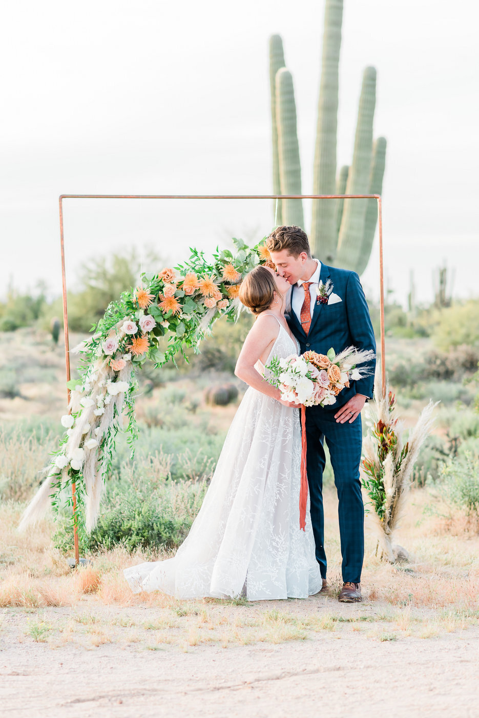 Modern Copper Desert Wedding Styled Shoot 2019-0138