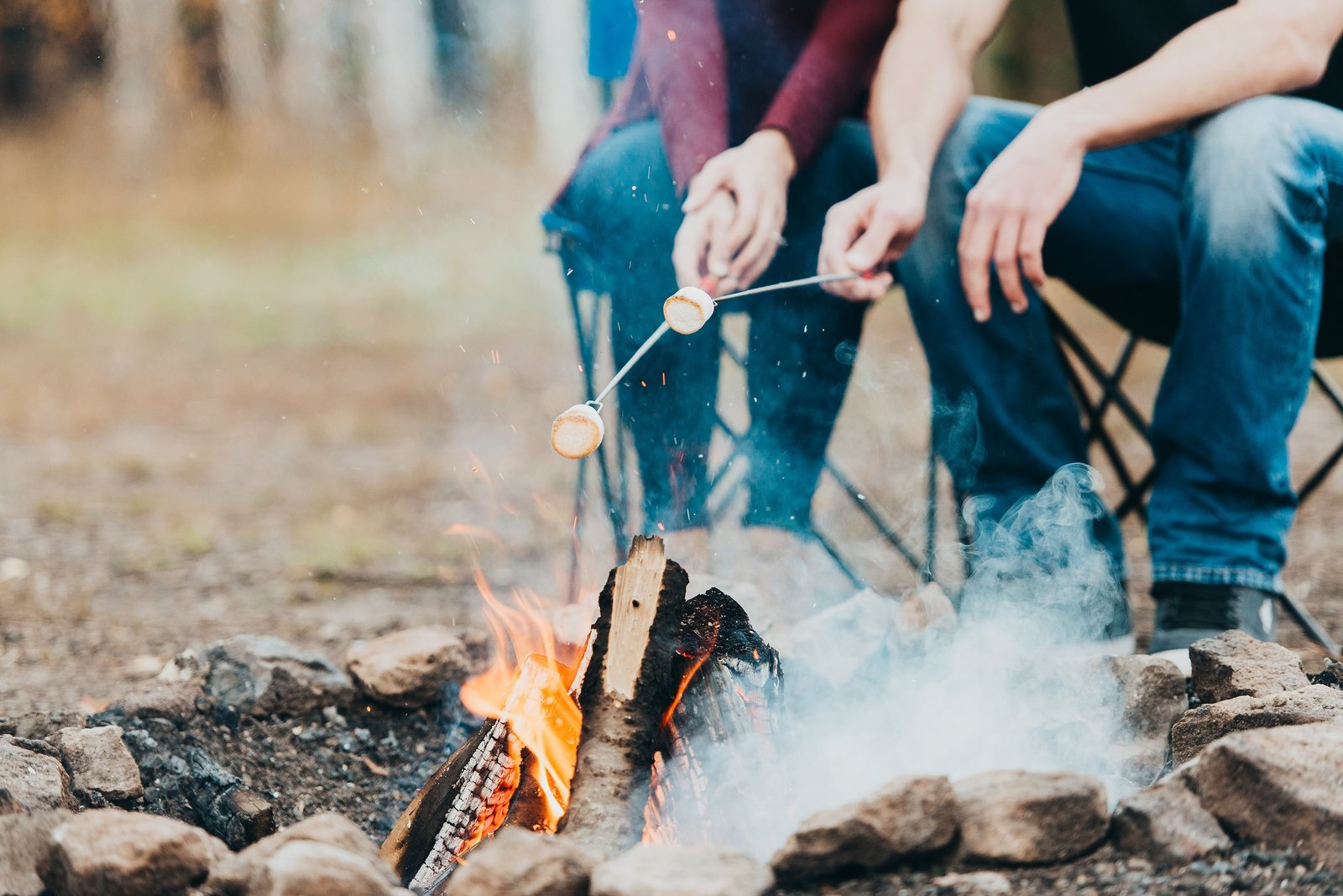 Campfire-Smores-Engagement-Photos
