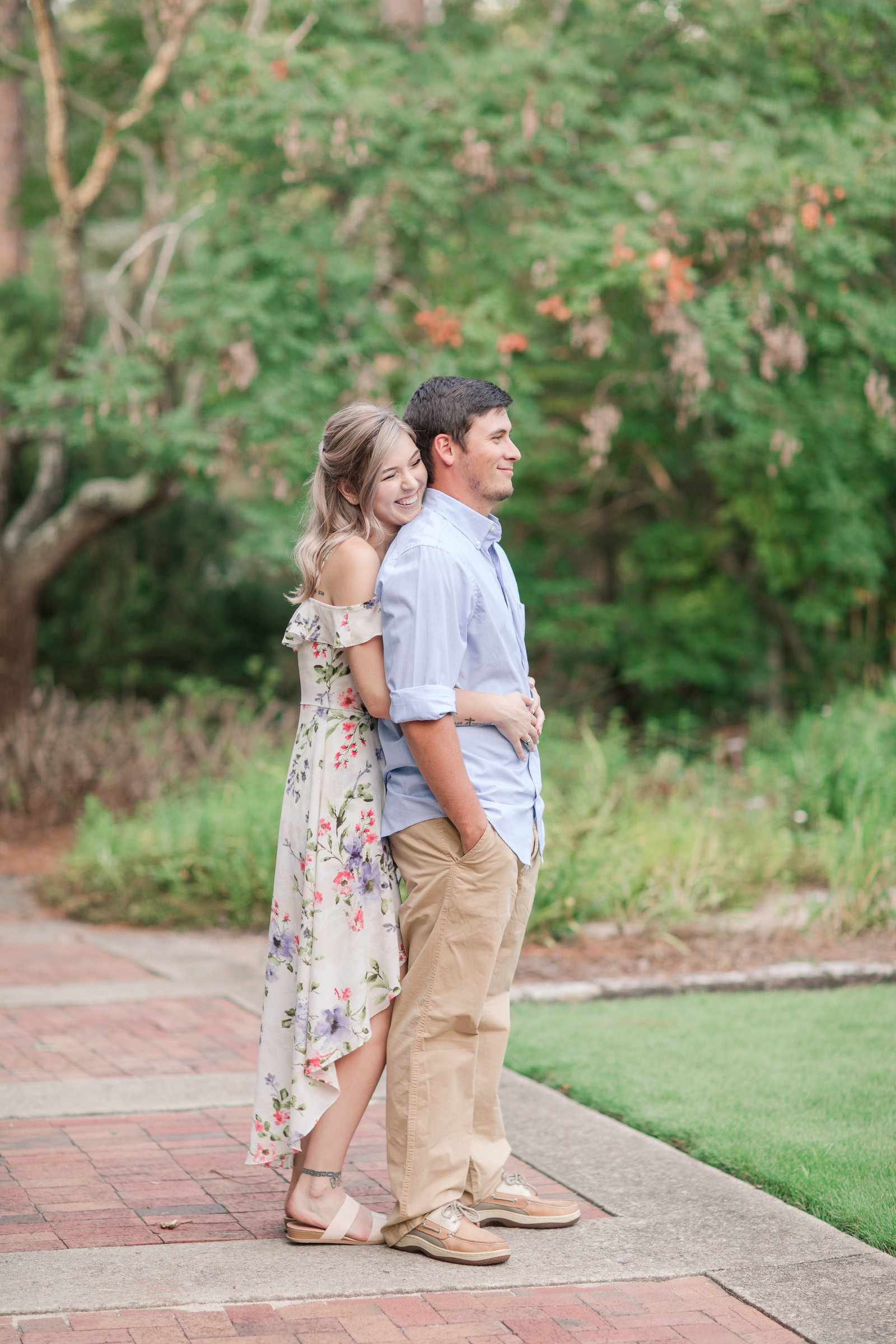 Jennifer B Photography-Sandhills Horticultural Gardens Engagement-Pinehurst NC-Cody and Kayla-2019-0034