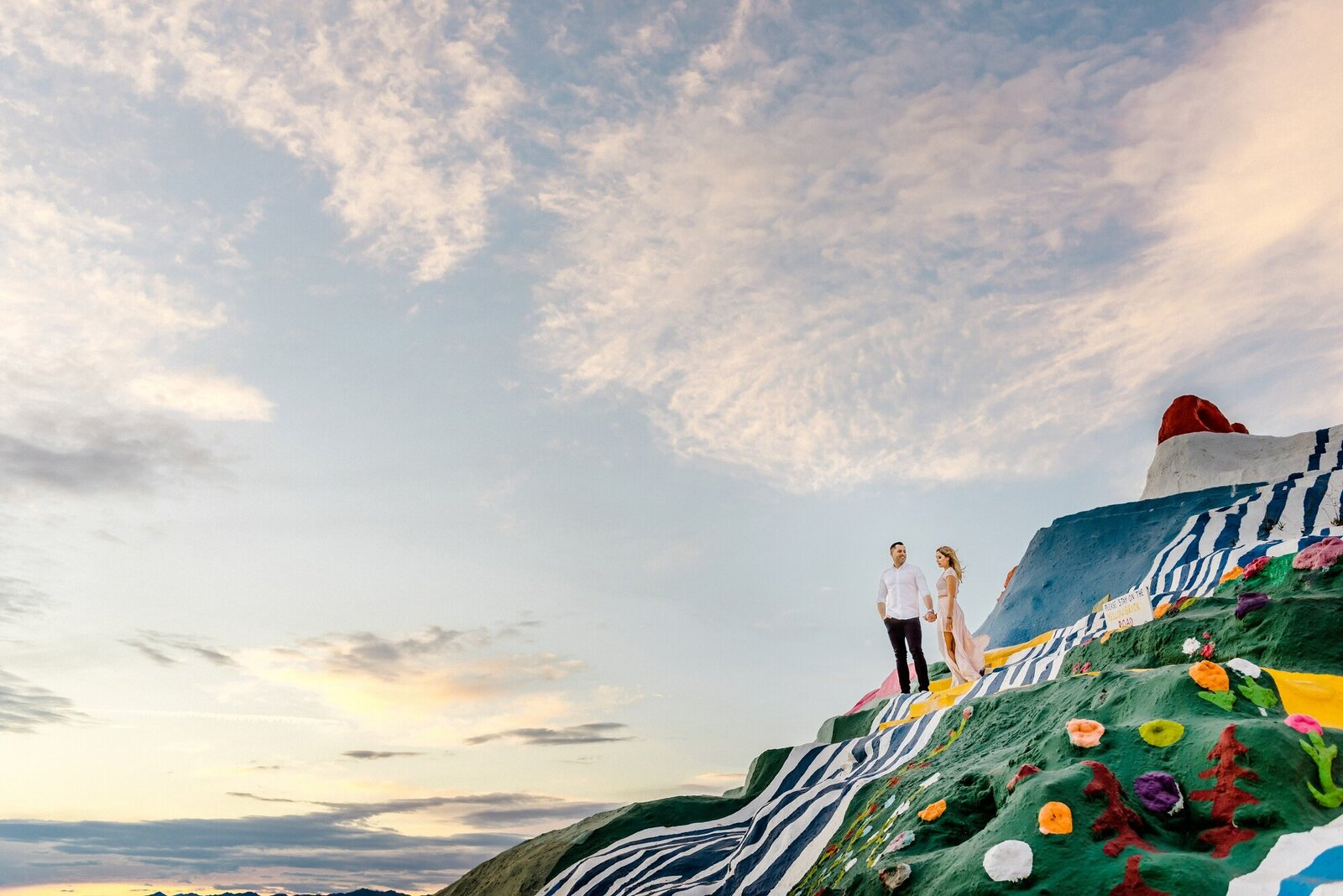 Salvation Mountain Engagement Session Photographer