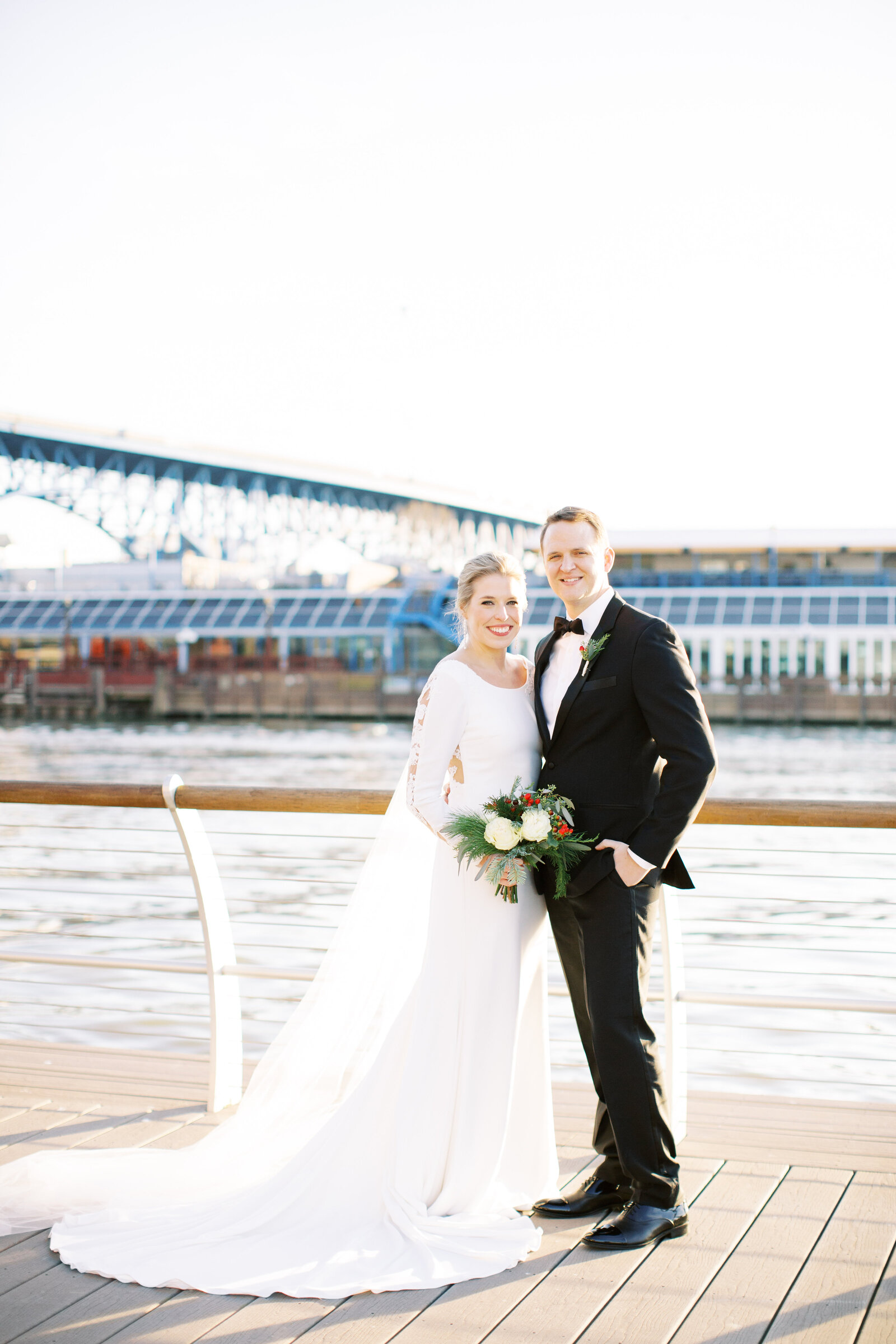 Cleveland wedding photographs in the flats