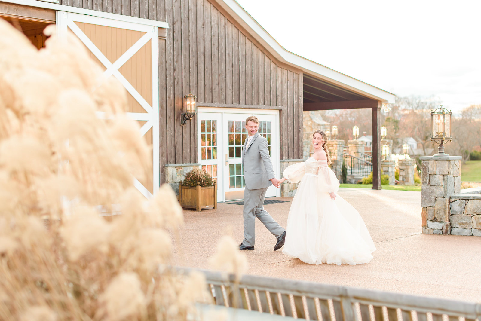 Peach Wedding at Mount Ida Farm