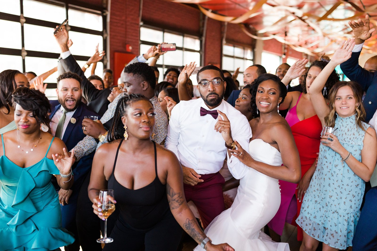 African American wedding DJ in Raleigh