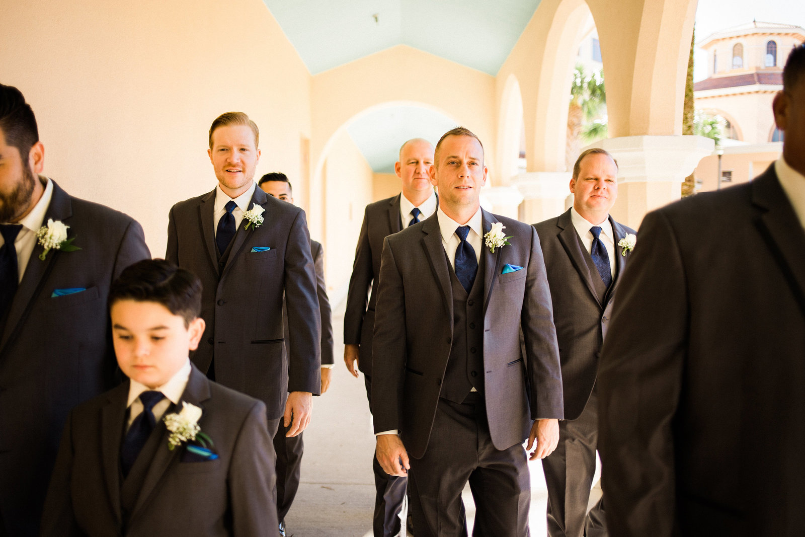 grooms-walking-together-rosen-shingle-creek