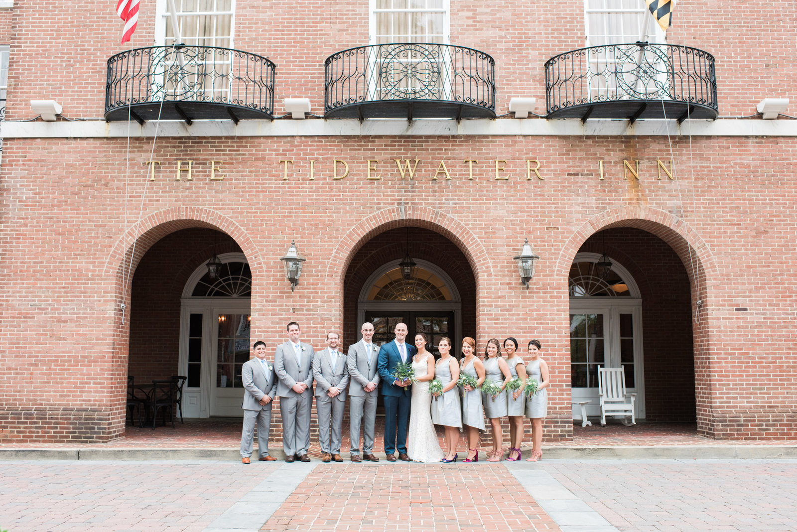 Tidewater Inn Wedding Photographer