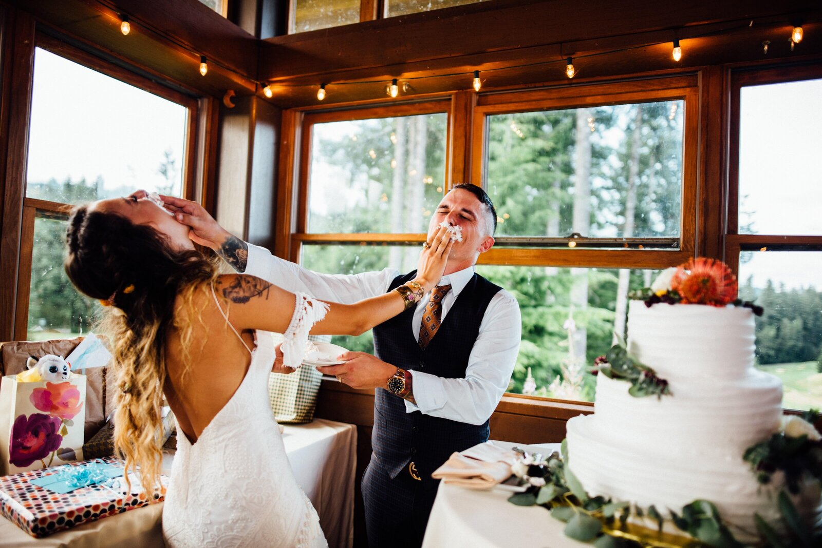 Consider a Mount Rainier National Park Elopement in Washington State photographed by local Washington Elopement Photographer. Rebecca Anne Photography.