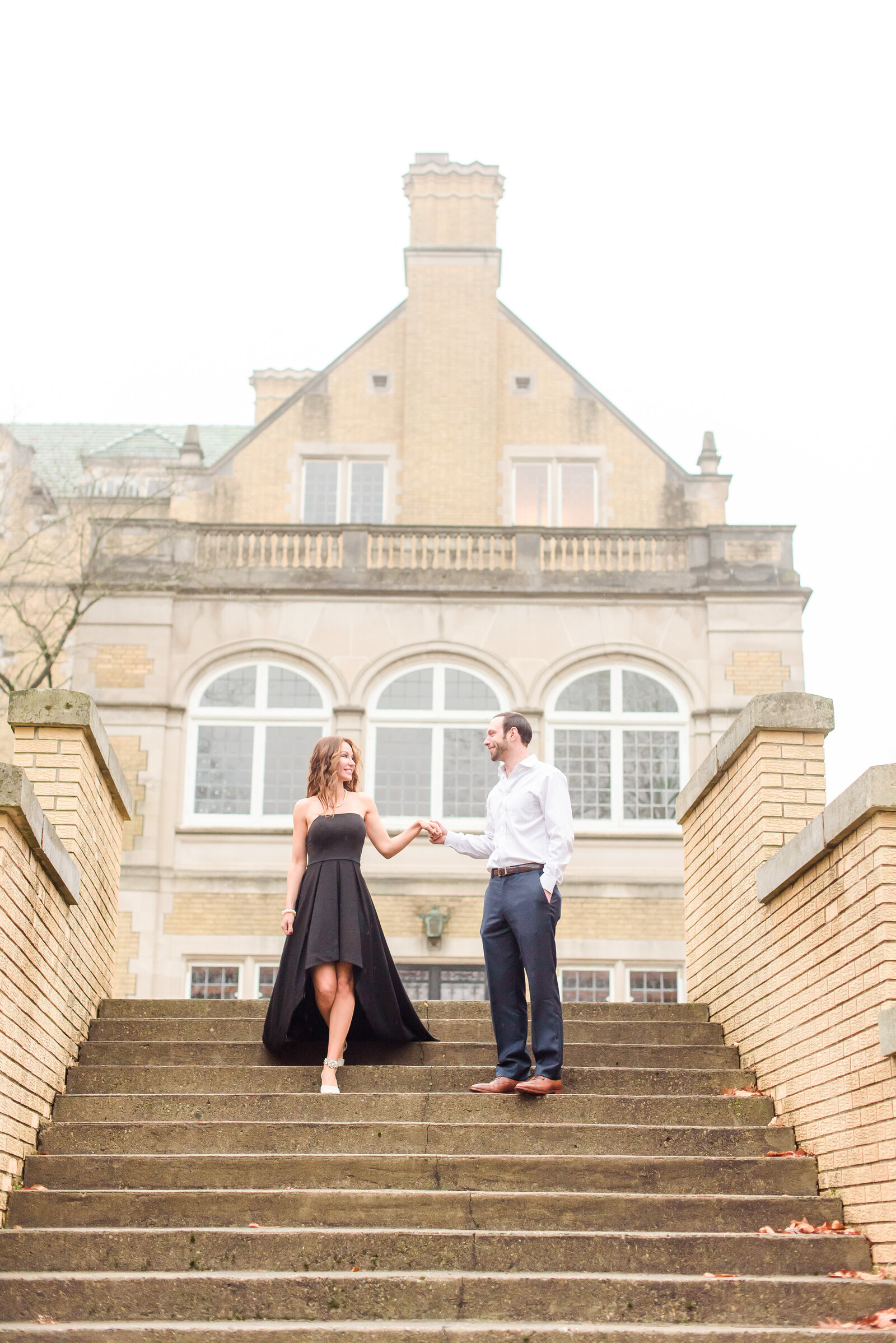 Laurel Hall Engagement Session