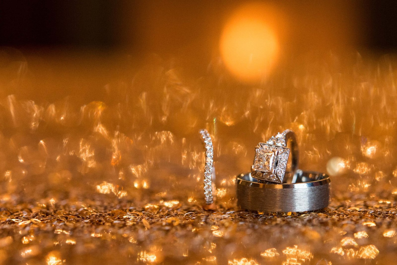 Wedding rings photo at East Wind