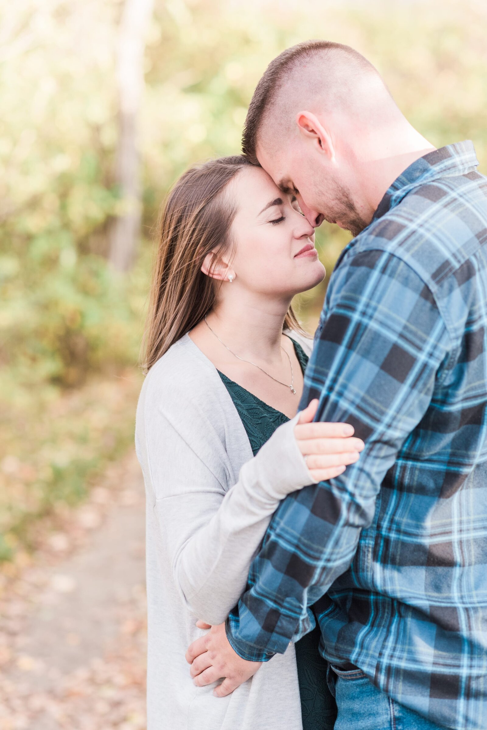 Tarja & James Maine Engagement Session-67